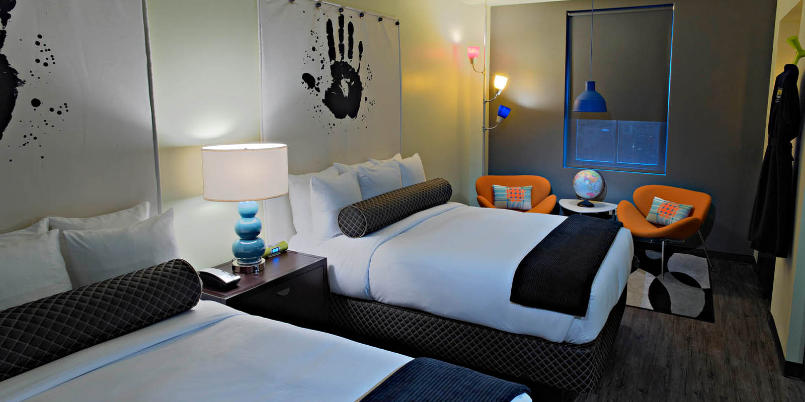 Double Double Suite of ACME Hotel Company, Chicago